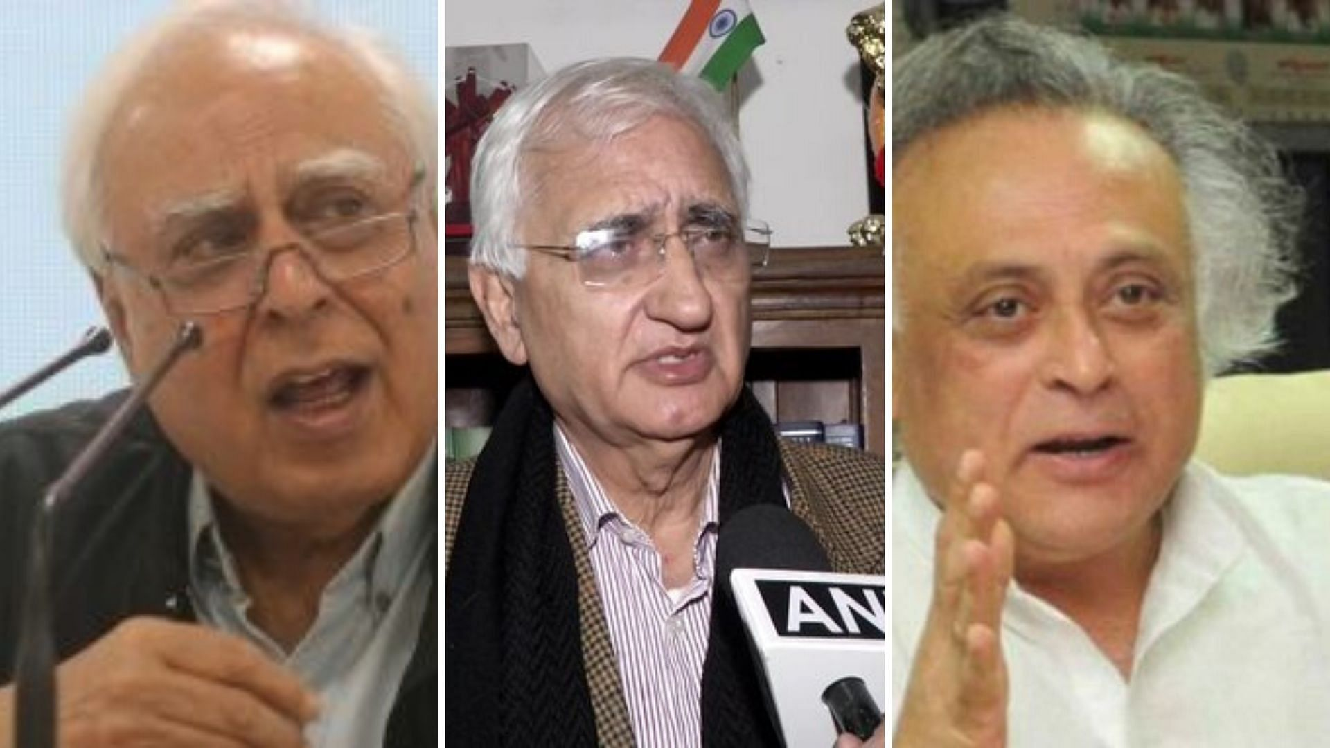 Khurshid, Sibal, Ramesh Say States Can't Say 'Won't Follow CAA'