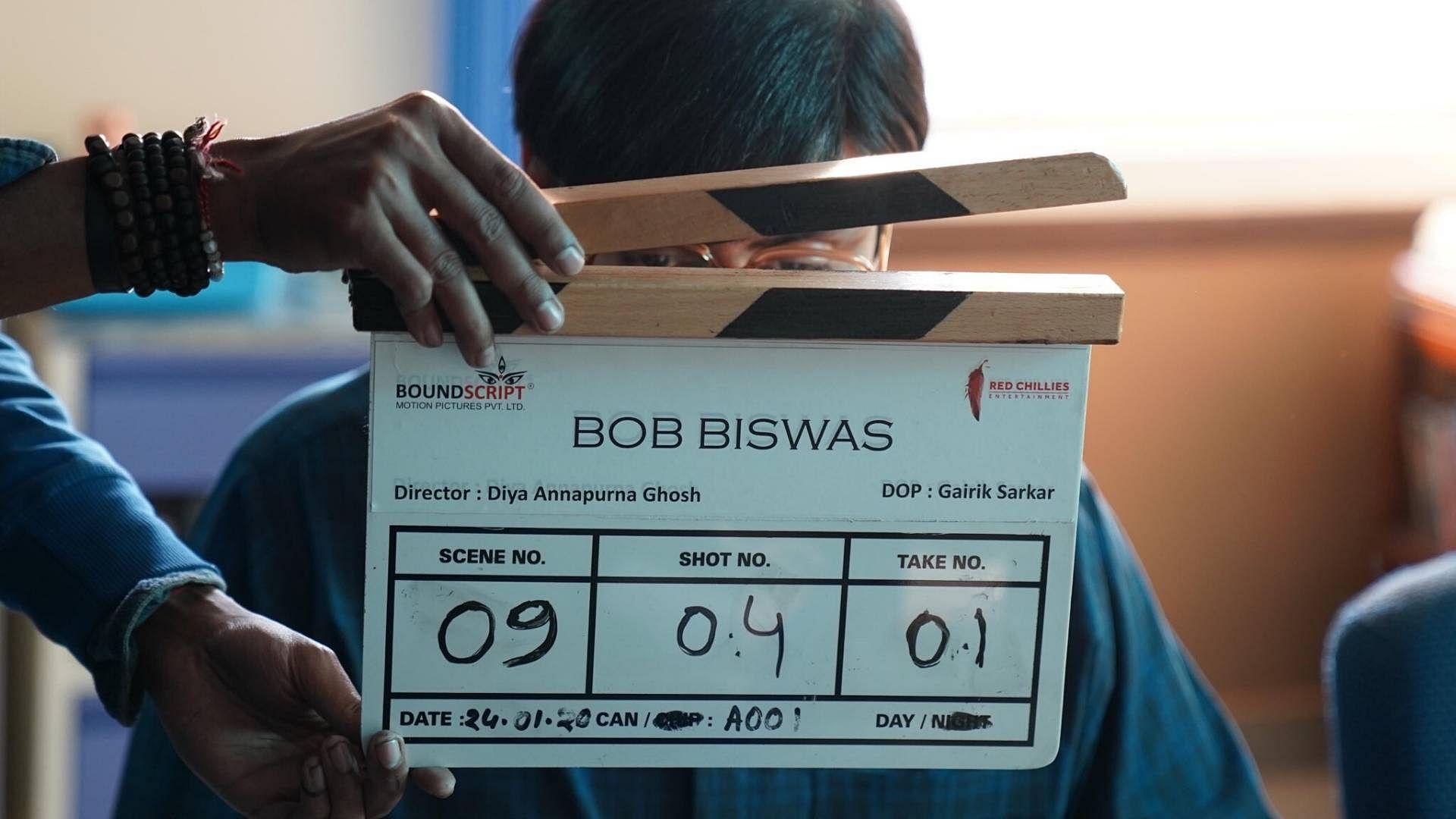 Abhishek Teases Look in 'Bob Biswas'; Here's How SRK Reacted