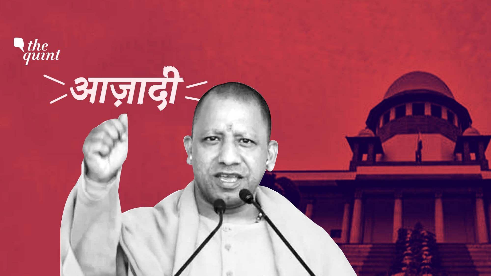 Despite Adityanath Claim, Chanting 'Azadi' Slogans Isn't Sedition