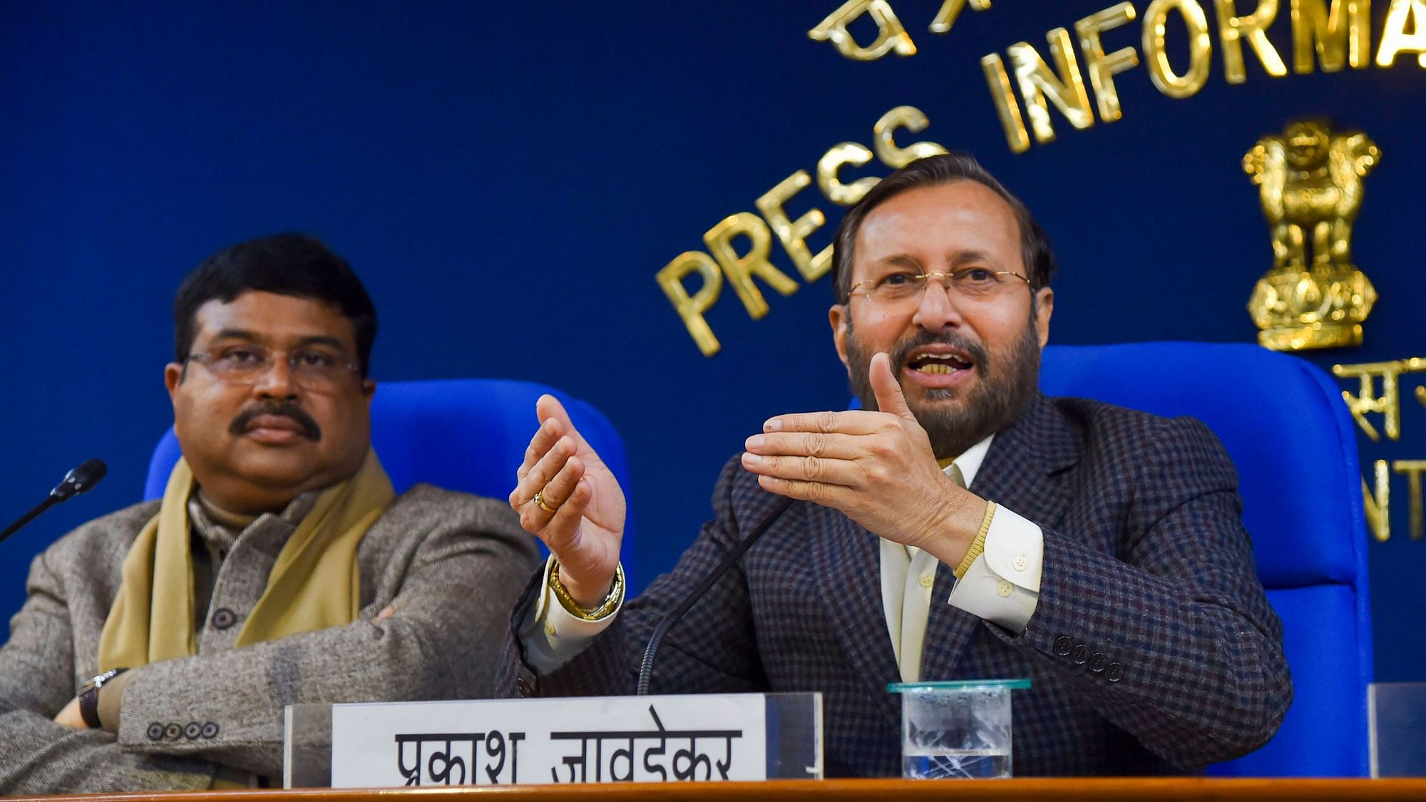 'Questions on Birth of Parents Are Optional': Javadekar on NPR