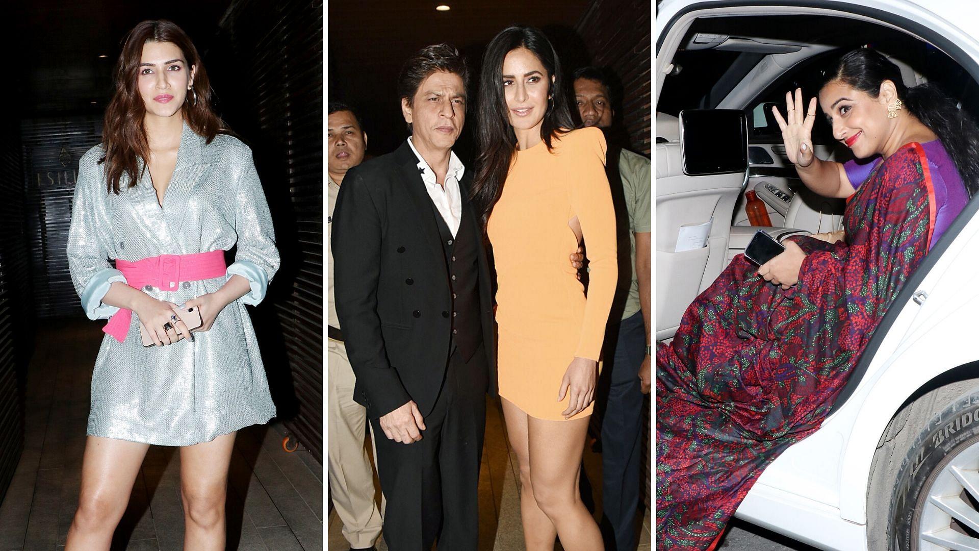 In Pics: SRK, Katrina, Kriti Sanon at Ali Abbas Zafar's B'Day Bash