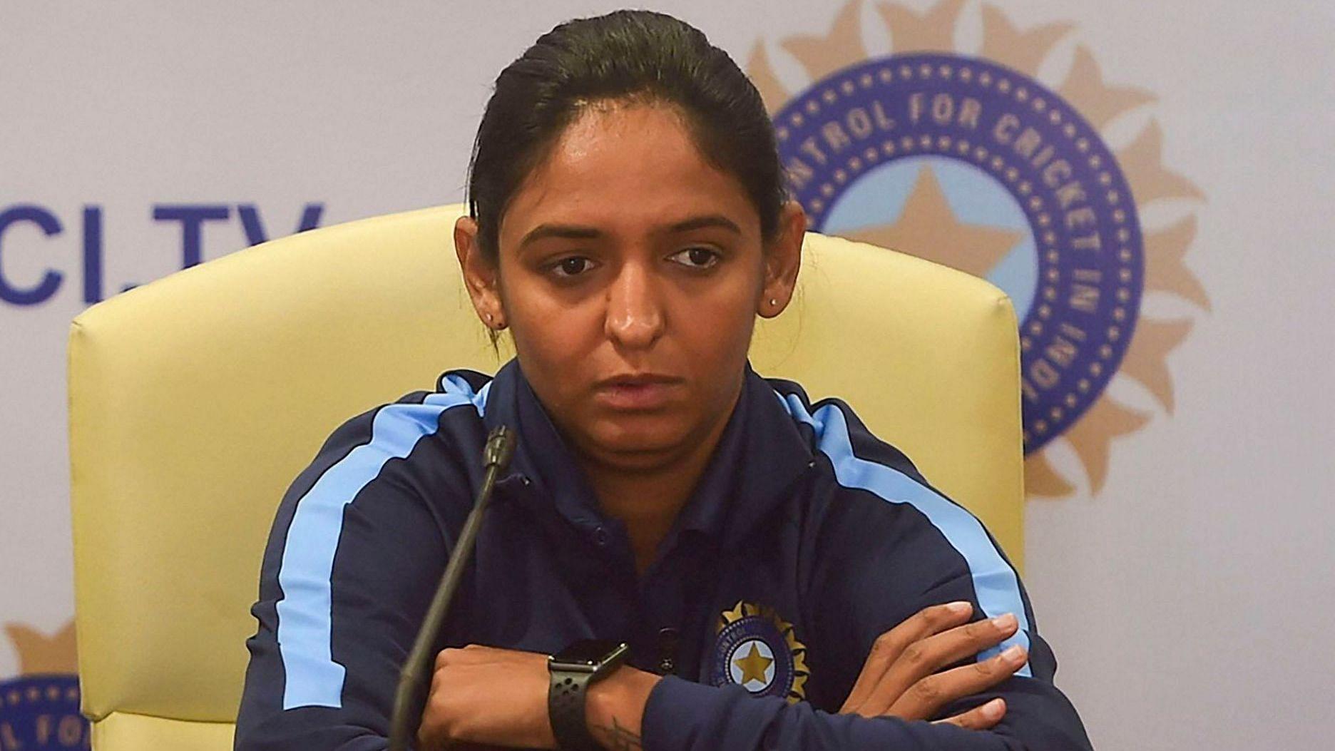 Handling Pressure Will be Key in T20 World Cup: Harmanpreet Kaur