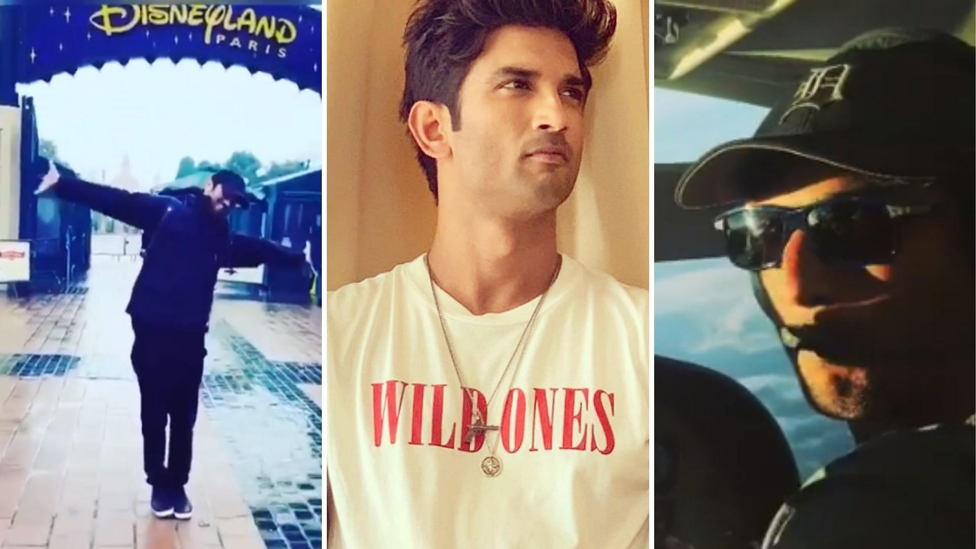 Disneyland to Flying a Plane, a Look at Sushant's Big Bucket List