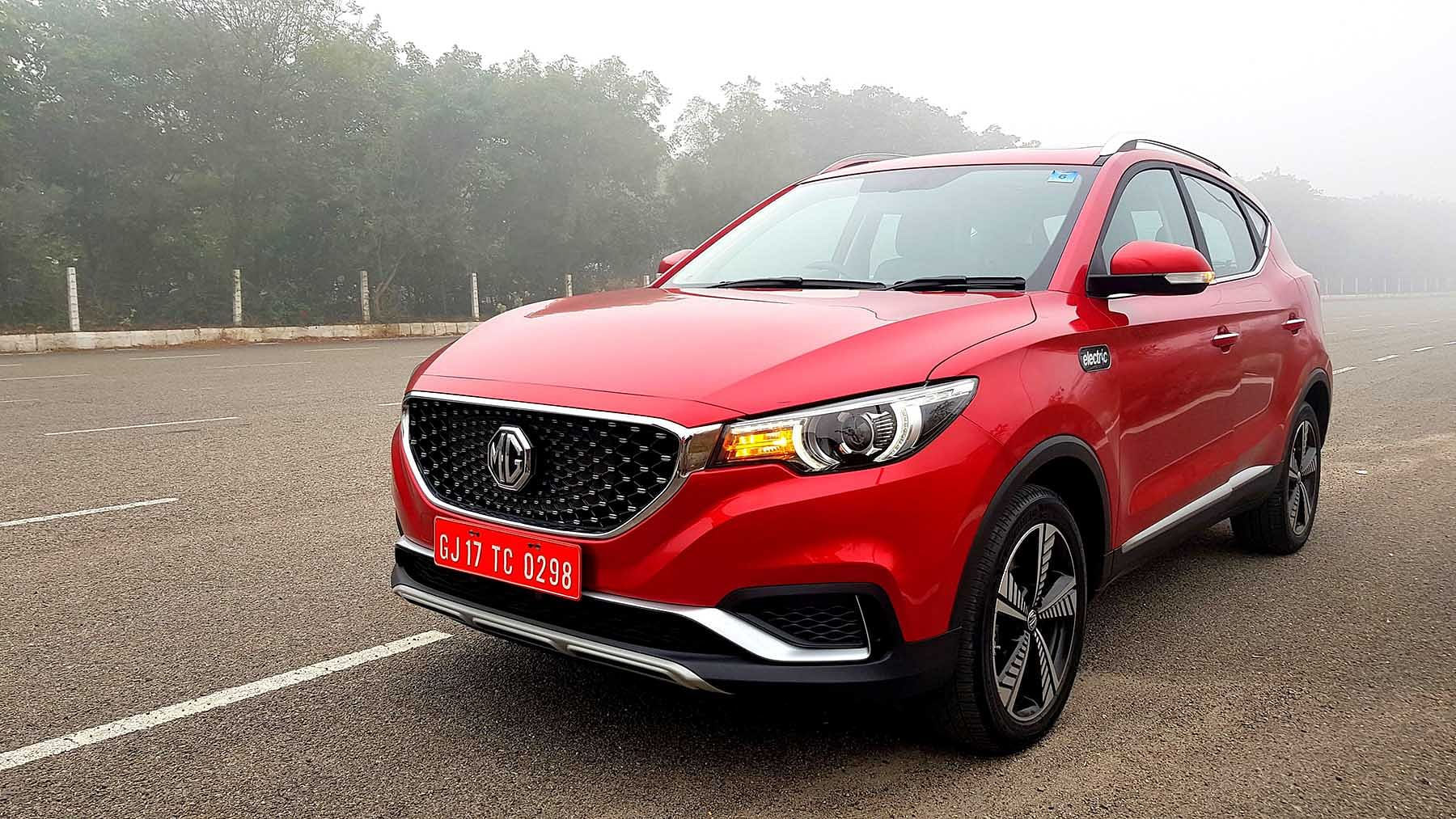 MG Motors Launches ZS EV in India, Prices Start from Rs 20.88 Lakh