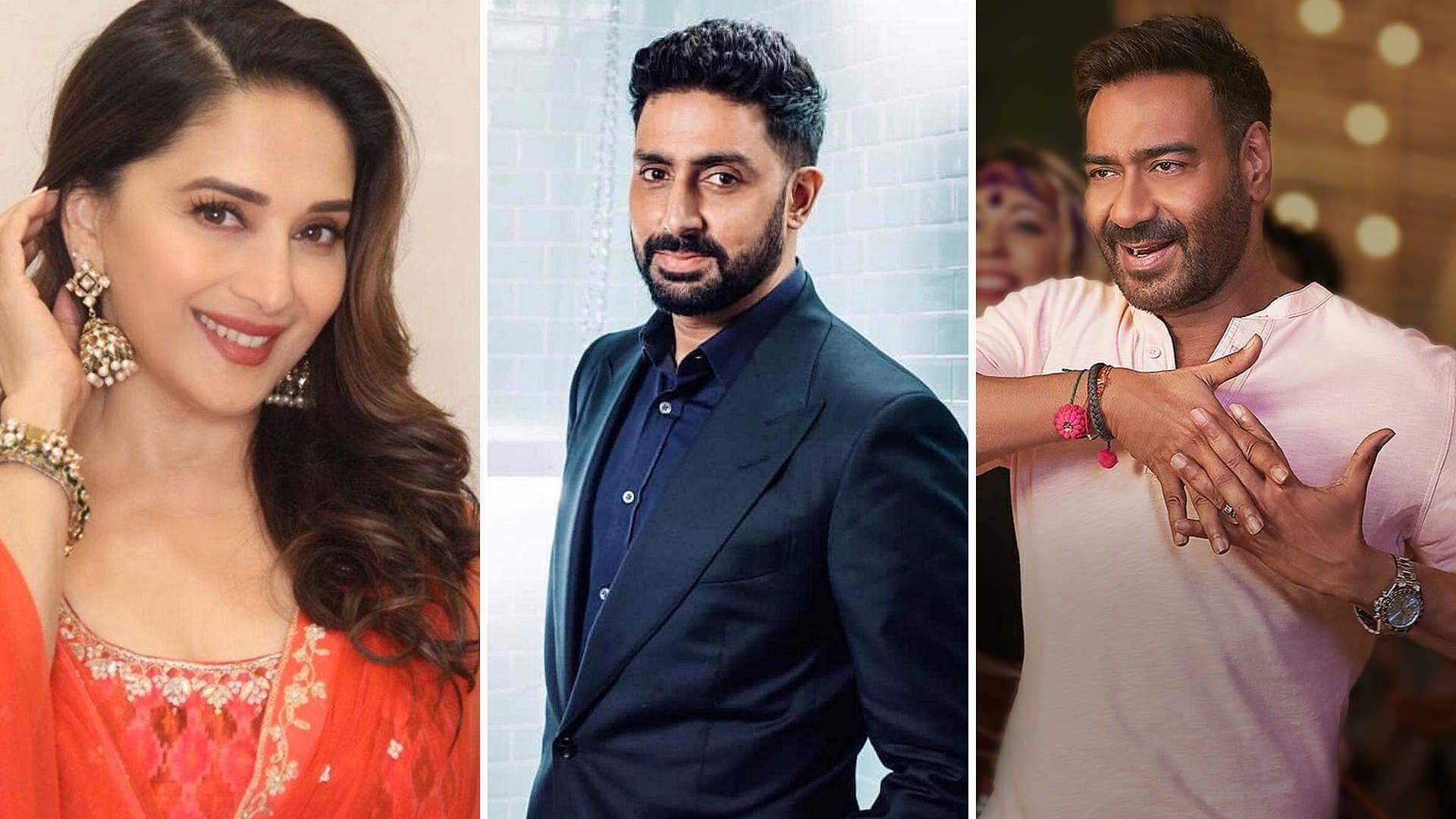 Madhuri, Ajay Devgn, Preity Zinta Send Wishes For Abhishek's B'Day