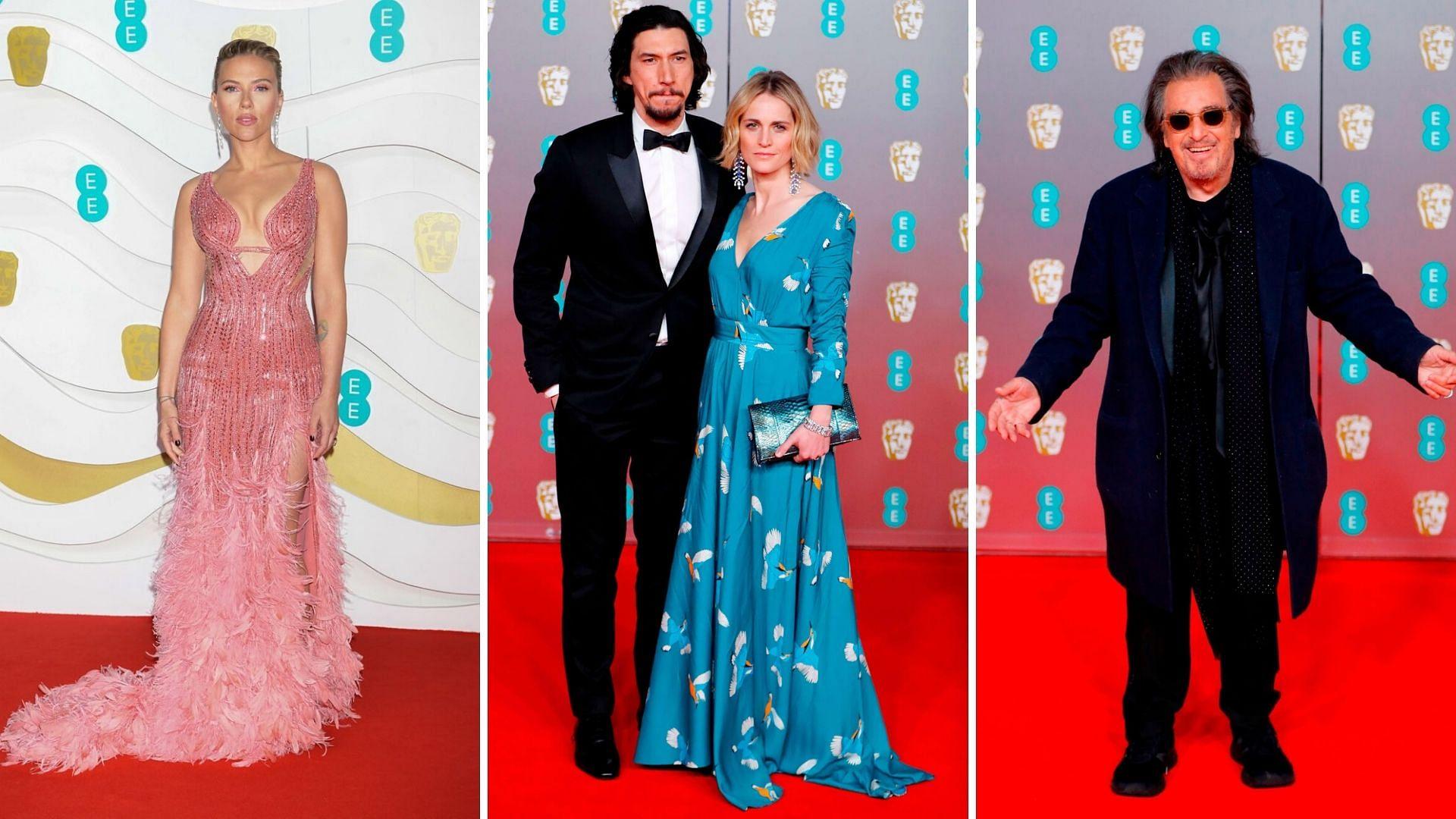 Al Pacino, Scarlett Johansson & Others at BAFTAs 2020 Red Carpet