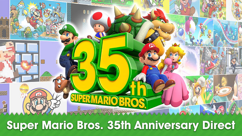 Nintendo marks 35th anniversary of iconic Super Mario Bros. with remakes and other releases