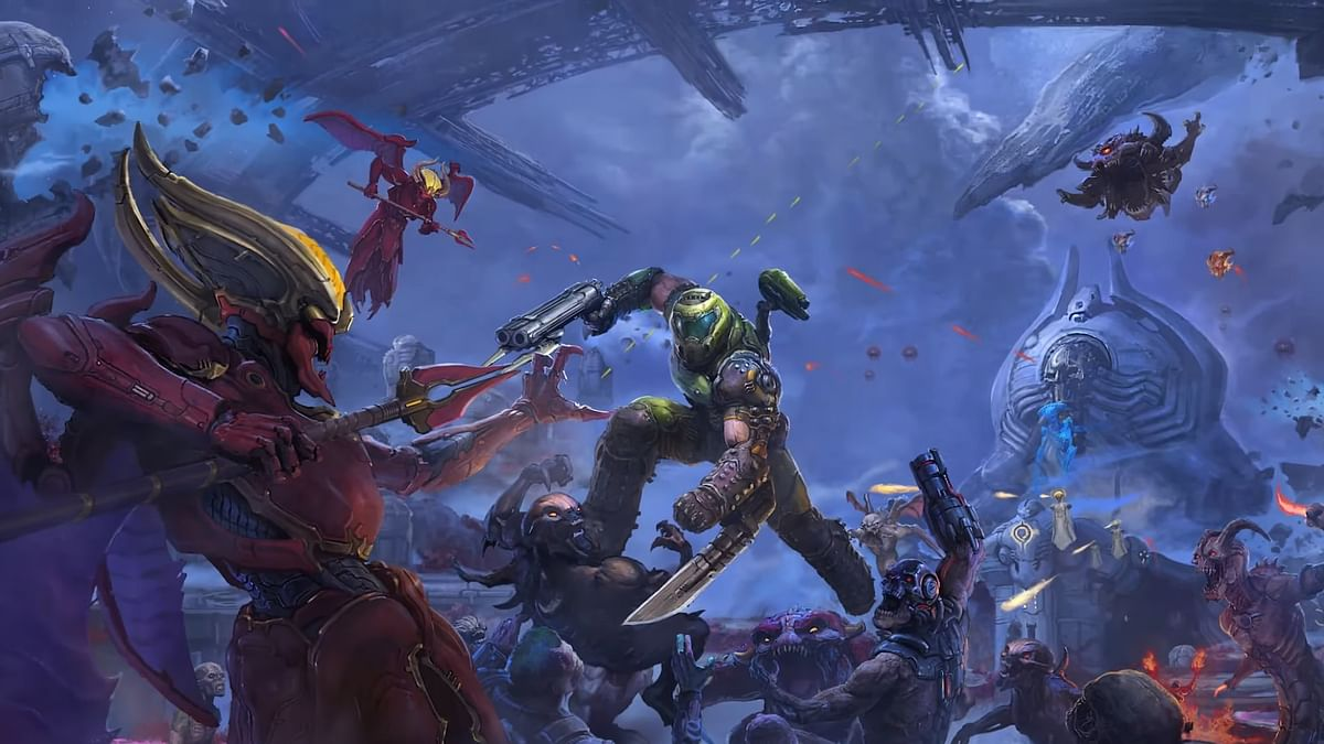 Doom Eternal's DLC 'The Ancient Gods Part One' will be a standalone adventure