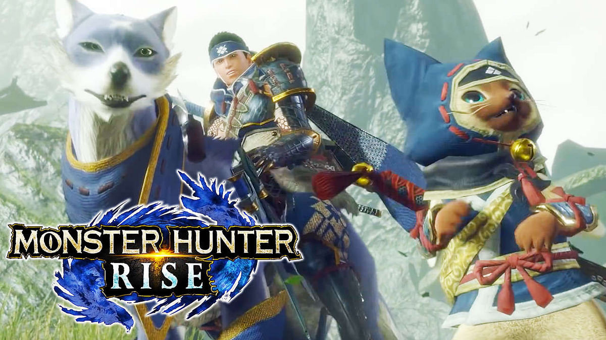 Capcom showcases two more weapons from Monster Hunter Rise