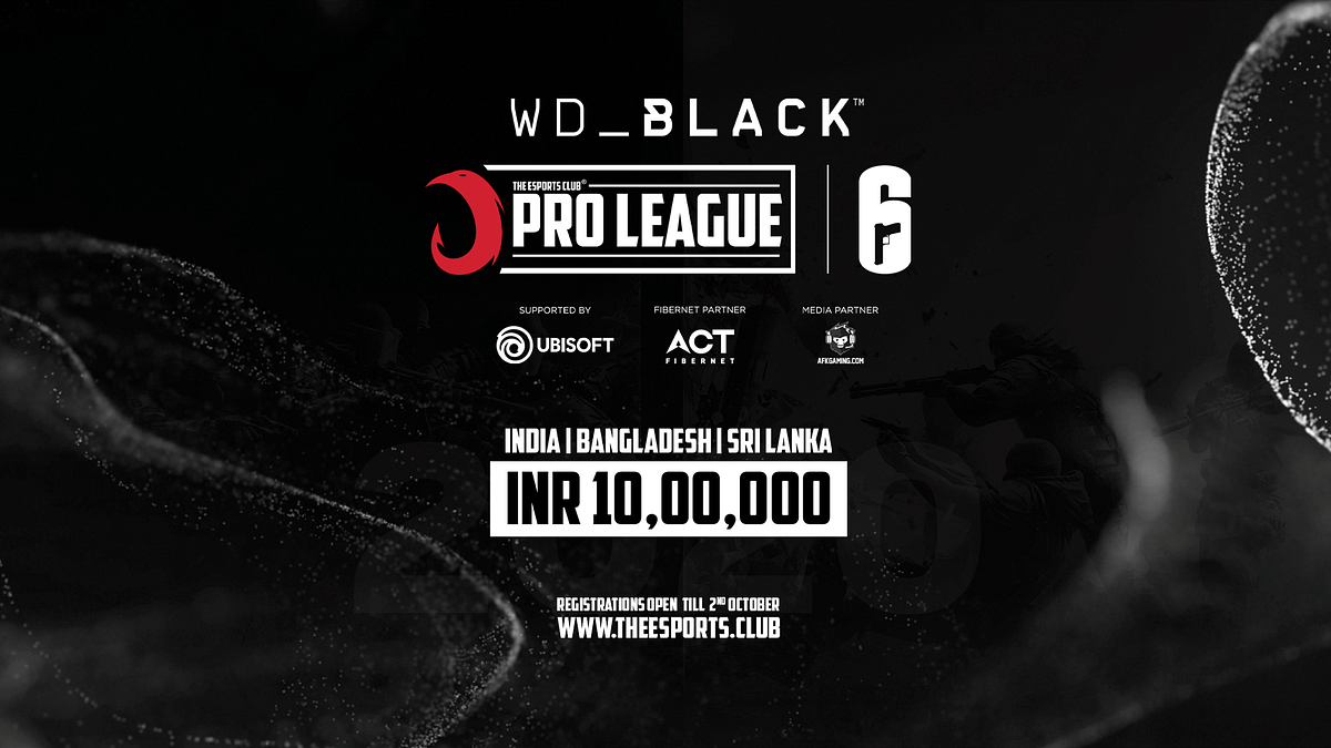 The Esports Club Launches ₹10 Lakh TEC Pro League for Tom Clancy's Rainbow Six Siege