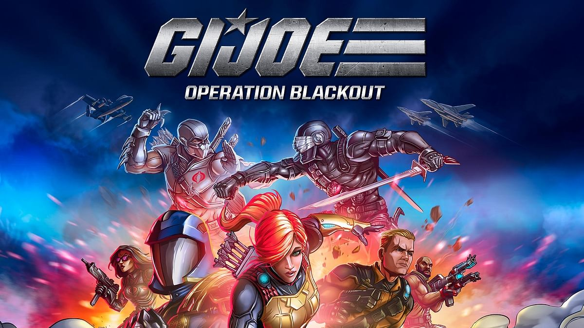 Get ready to dive in some action as G.I. Joe: Operation Blackout releases today
