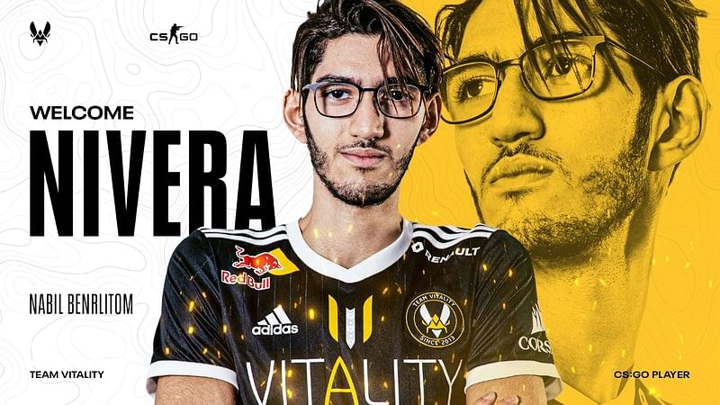 Vitality signs Nivera as the sixth player in their CS:GO roster