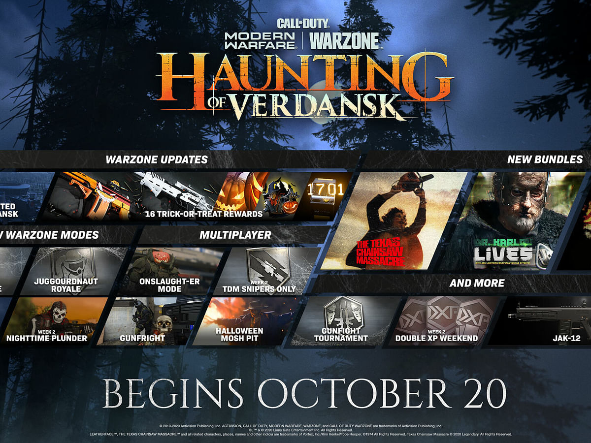 Call of Duty Modern Warfare and Warzone get Halloween themed limited-event
