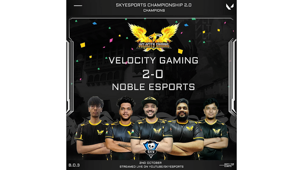 Velocity Gaming procure the first phase of Skyesports Valorant Championship 2.0