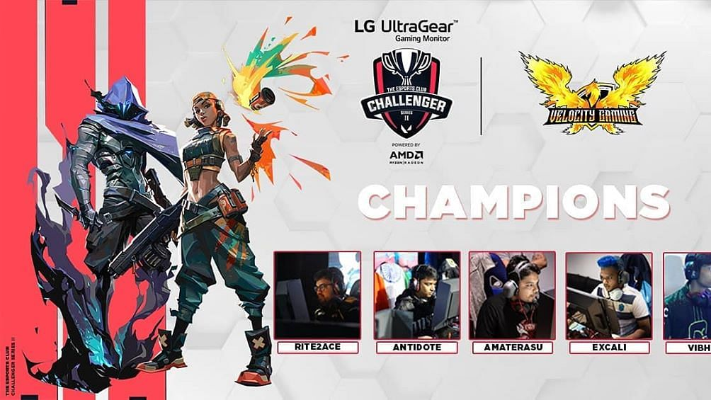 Velocity Gaming are the TEC Valorant Challenger Series 2 Champions