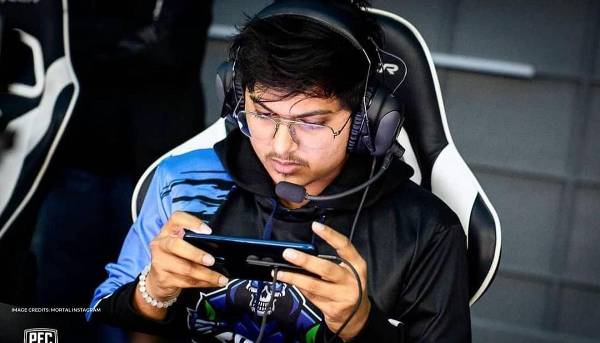 "Naman ""Mortal"" Mathur is one of the finalists for the 'Esports Mobile Player of the Year' award"