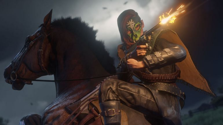 Red Dead Online gets new zombie game mode and Halloween Outlaw Pass