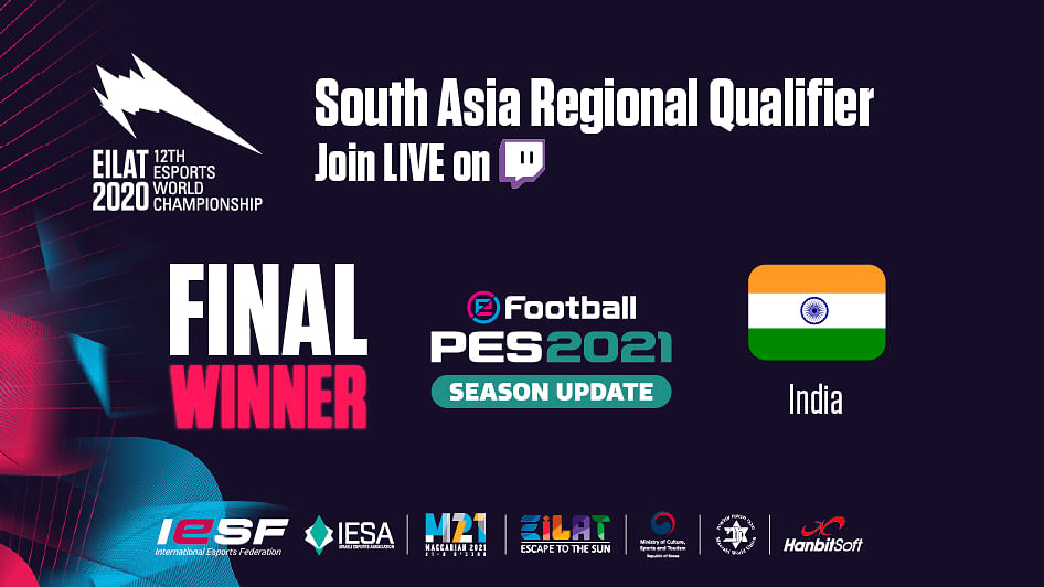 Moinuddin Amdani qualifies for the 12th PES Esports World Championship Finals