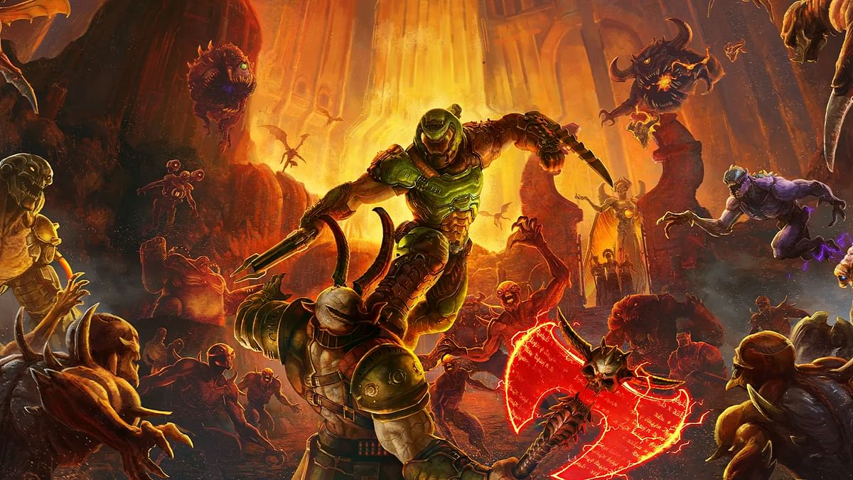 Here's how Doom Eternal upgrades for PS5 and Xbox Series X will work