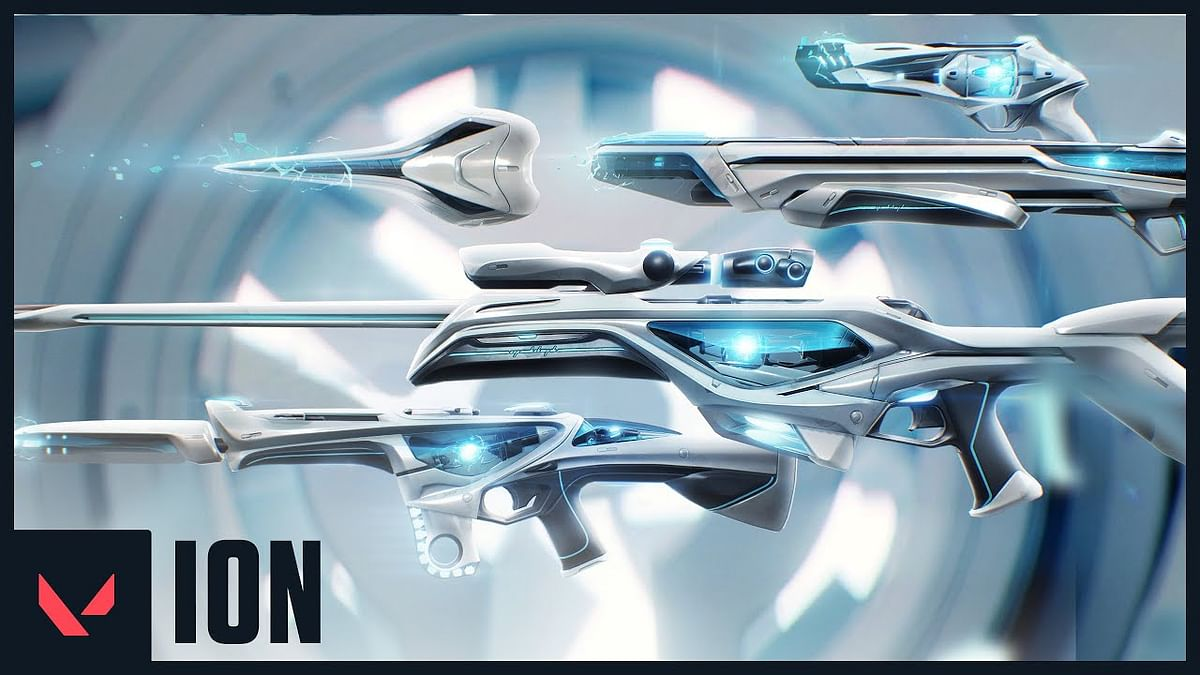 Valorant reveals new Sci-fi themed skin bundle called Ion