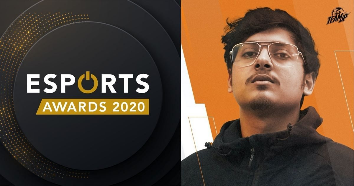 Naman 'Mortal' Mathur awarded second place as Streamer of the Year at Esports Awards 2020