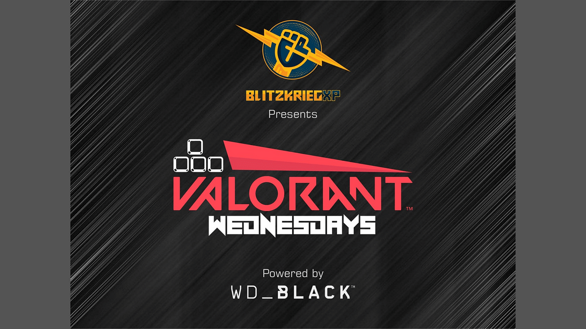 BlitzkreigXP launches Valorant Wednesdays in partnership with Western Digital