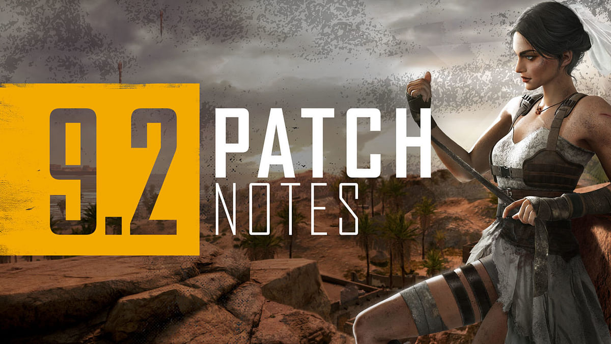 PUBG 9.2 Update goes live on test servers with new features, weapon adjustments and more