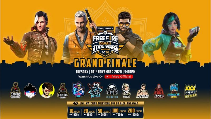 Aaction Bolt emerge victorious in Rheo Arena Free Fire Diwali Star Wars Championship 2020