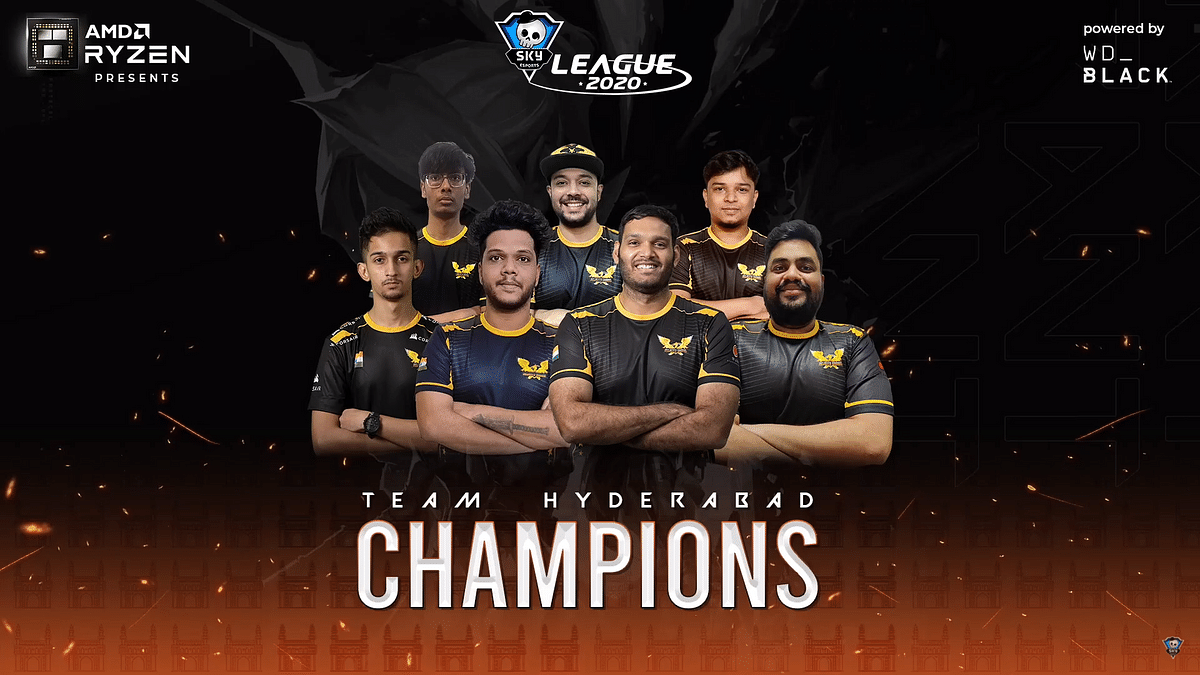 Team Hyderabad emerge victorious at the Skyesports League 2020
