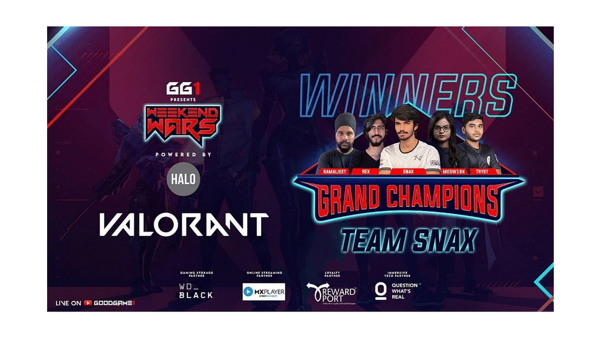 Team Snax emerge victorious at the GoodGame1 Valorant Weekend Wars