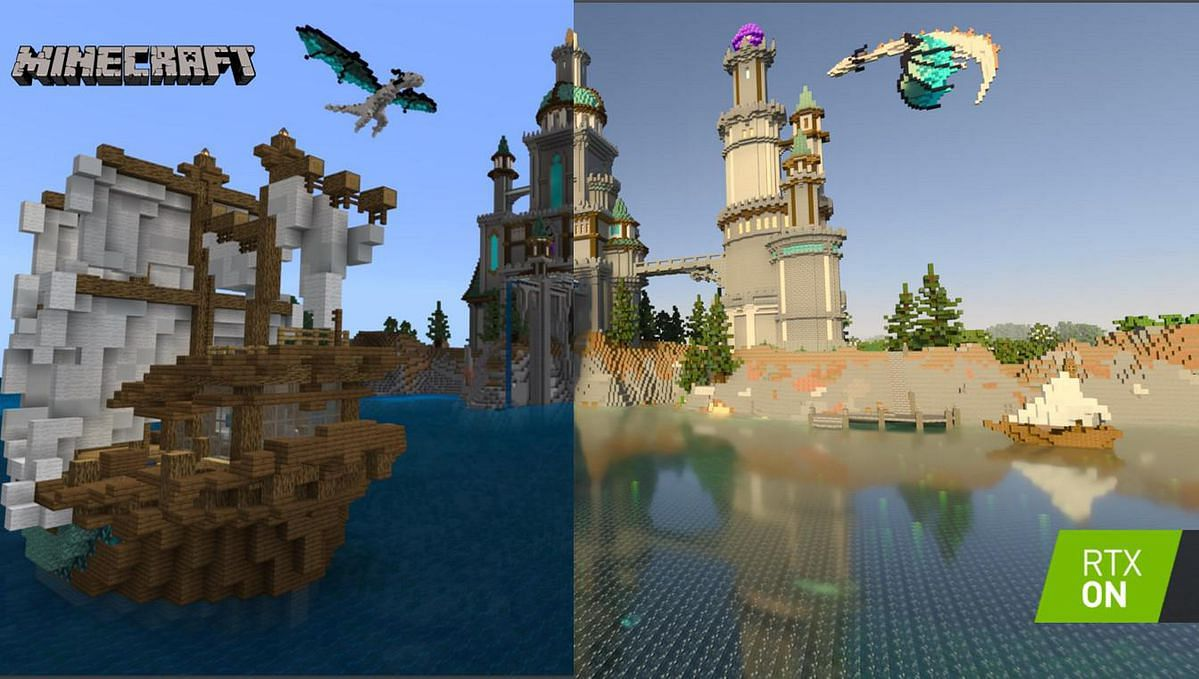 Minecraft on Windows 10 now officially supports ray tracing