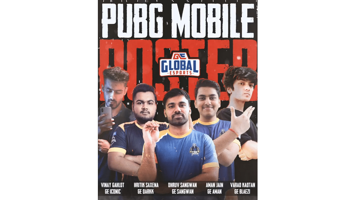 Global Esports reveals their new PUBG Mobile roster