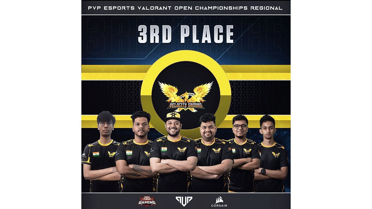 Velocity Gaming bags 3rd place at PVP Valorant SuperGamer fest 2020