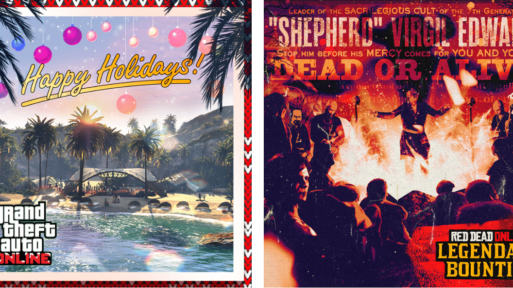 Rockstar Games holiday events for GTA Online and Red Dead Online are live
