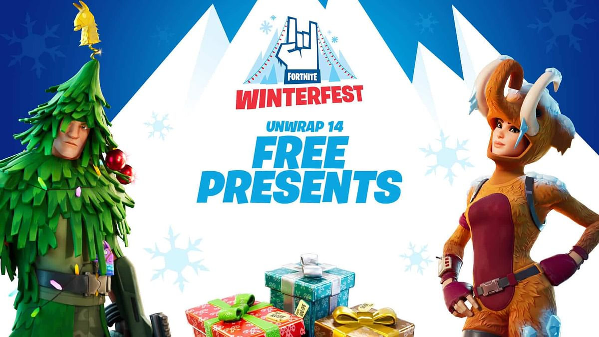 Epic announces 14-day long Fortnite Winterfest 2020 holiday season event