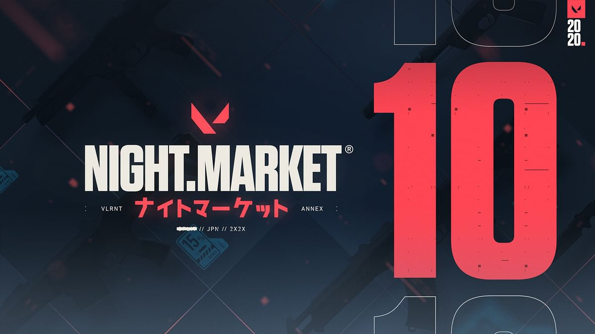 Purchase Valorant Skins at the Valorant Night Market for almost half the price