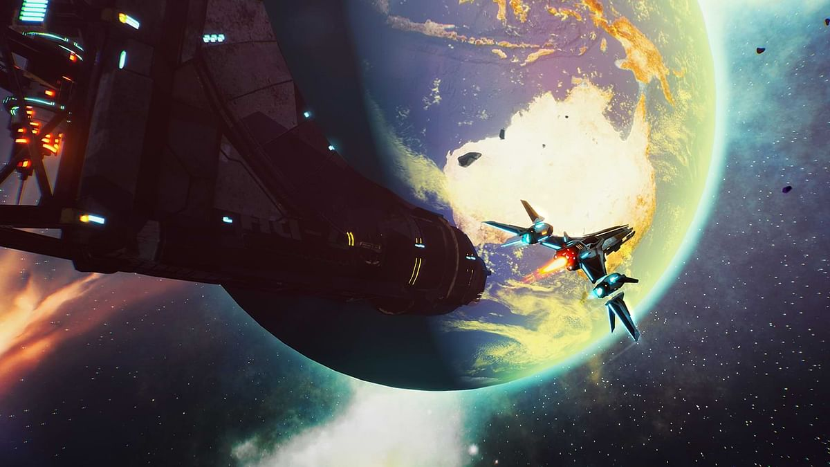 Redout Space Assault is coming to Windows PCs and Consoles in January 2021