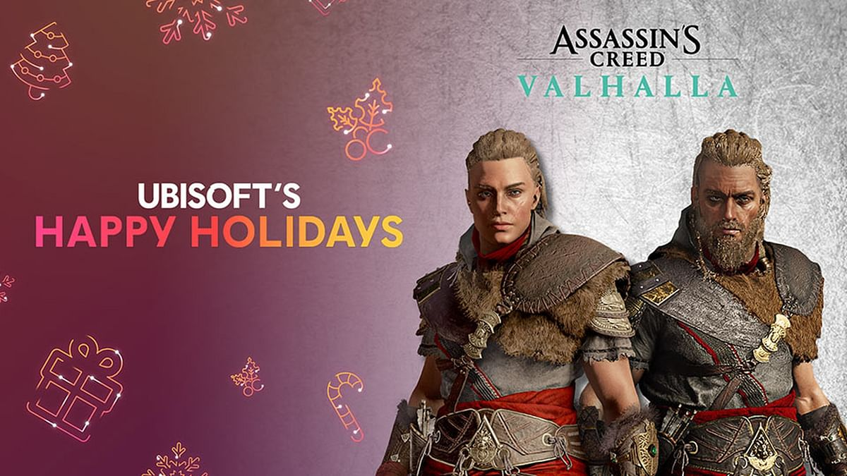 Ubisoft giving away free items this week in Happy Holiday event