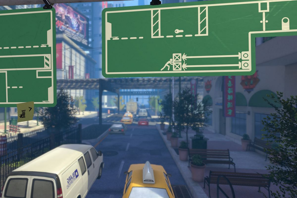 """Street sign shifting platformer """"The Pedestrian"""" is coming to Playstation consoles"""