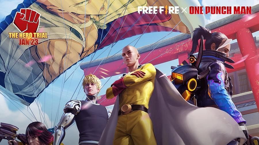 Garena unveils 2021's first crossover event: 'The Hero Trial' for Free Fire
