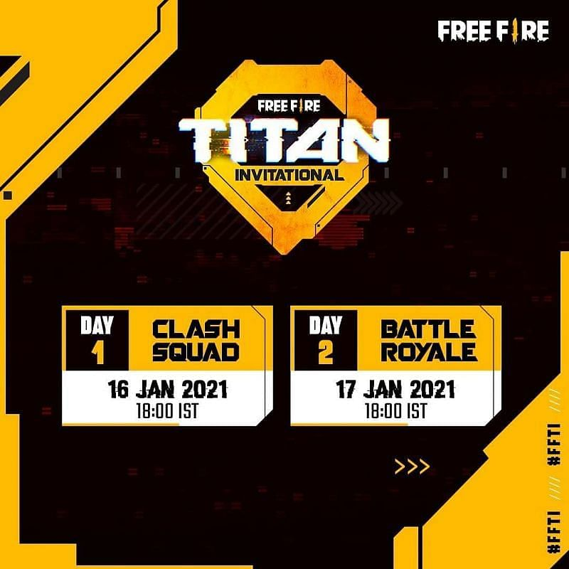 Sc0ut, MortaL to participate in the upcoming Free Fire Titan Invitational Cup
