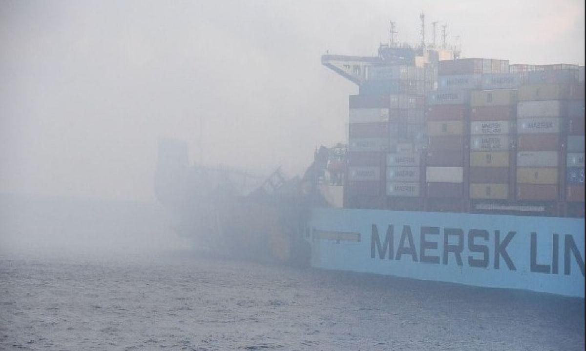Maersk Honam reaches anchorage outside Jebel Ali Port