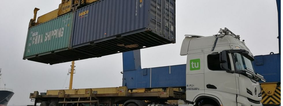 Chinese Ports Aim for Autonomous Trucks by End of 2018