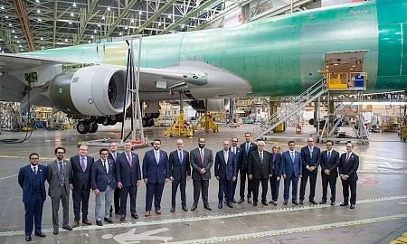 Saudi Arabian Military Industries and Boeing Form JV