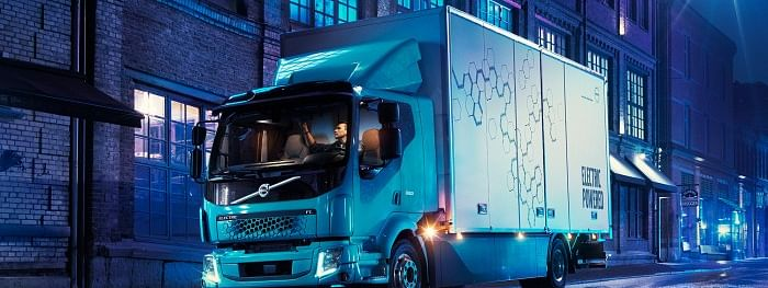 Volvo Introduces First All-Electric Truck for Commercial Use