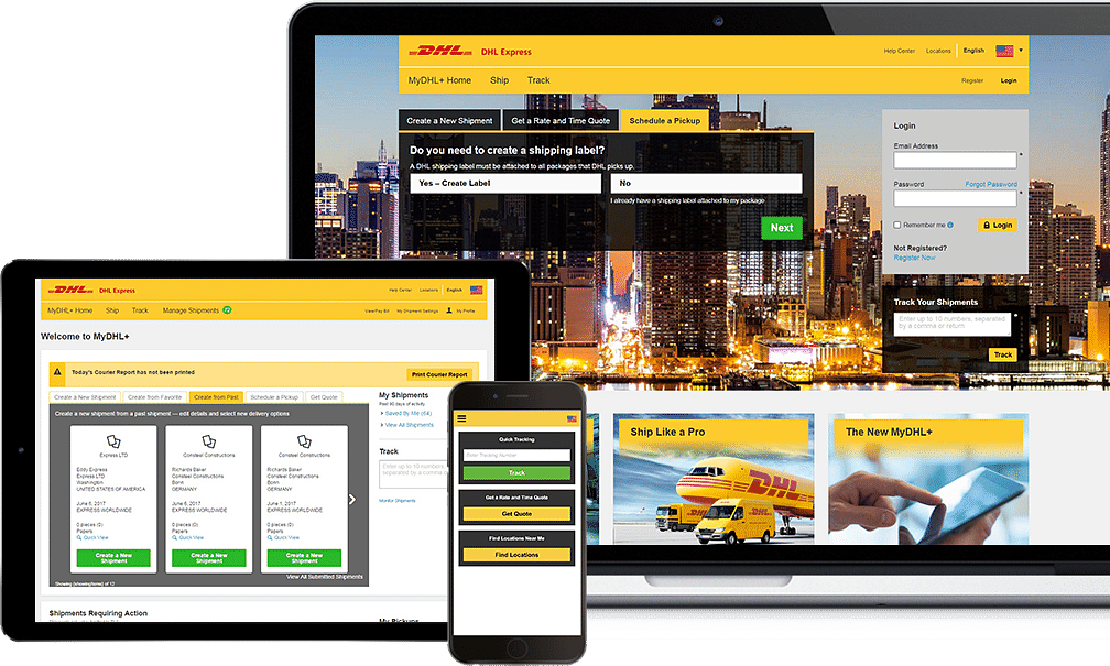 MyDHL+ launched first in the UAE