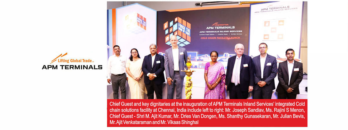 APM Terminals launches integrated cold chain solutions in India