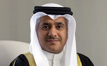 Bahrain Minister of Transportation and Telecommunications and Gulf Air Group  Chairman Kamal bin Ahmed Mohammed