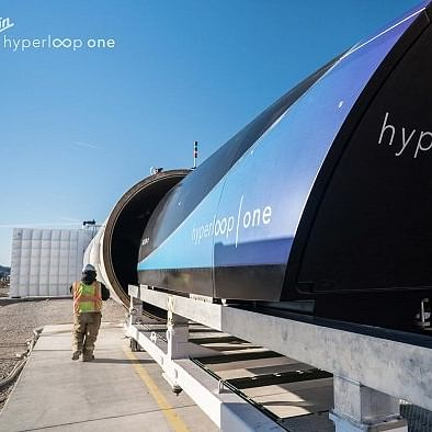 DP World and Virgin Hyperloop One Create Cargospeed