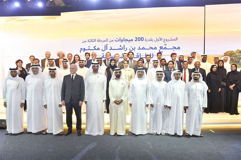 Sheikh Mohammed Inaugurates Stage 1 of Mega Solar Park Phase 3